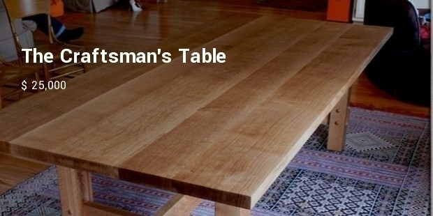 the craftsmans table