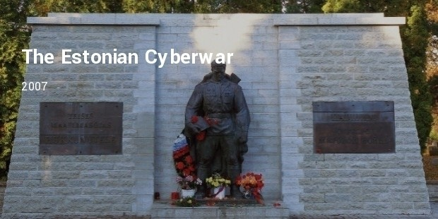 the estonian cyberwar