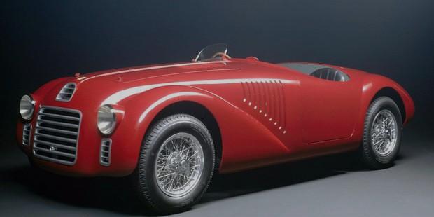 the first ferrari car