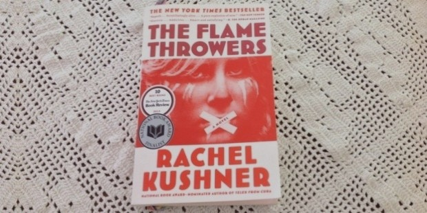 the flame throwers book