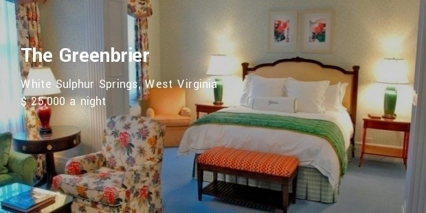 the greenbrier  white sulphur springs, west virginia