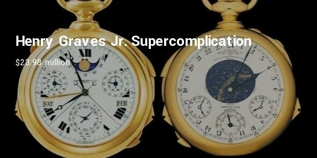 the henry graves jr supercomplication