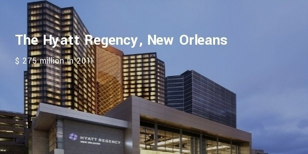 the hyatt regency, new orleans