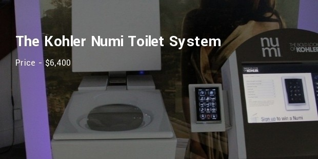 the kohler numi toilet system