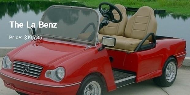 the la benz   $19,735