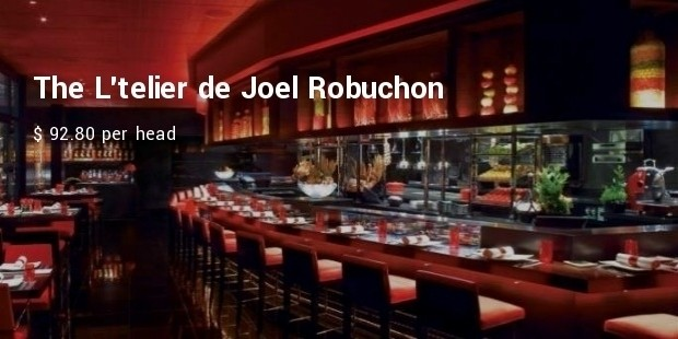 the latelier de joel robuchon
