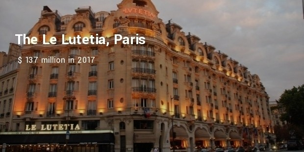 the le lutetia, paris