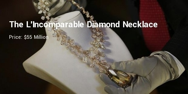 the lincomparable diamond necklace