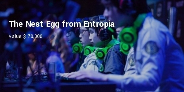 the nest egg from entropia