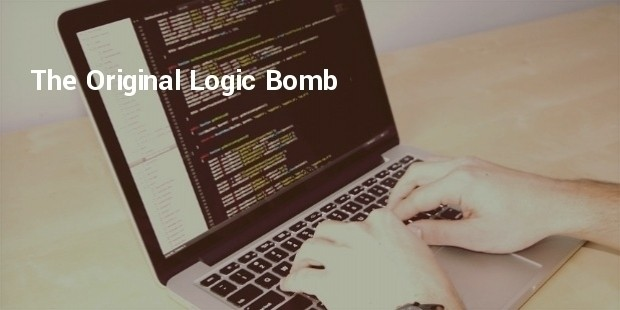 the original logic bomb