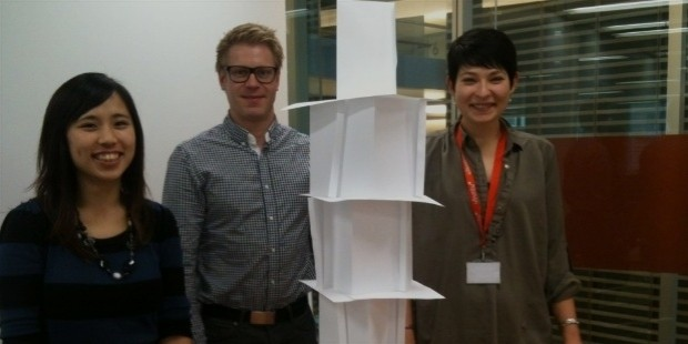 the paper tower game