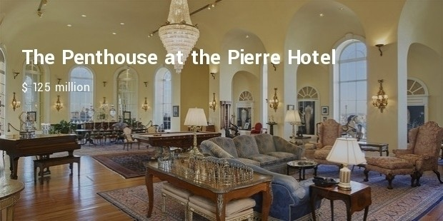 the penthouse at the pierre hotel