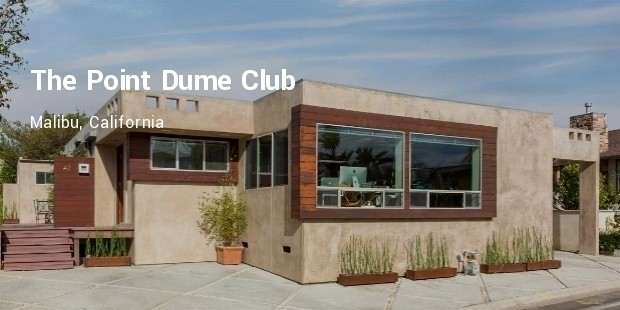 the point dume club :malibu, california
