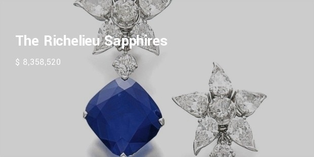 the richelieu sapphires