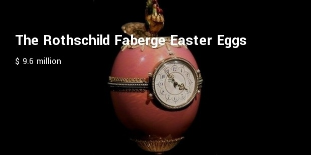 the rothschild faberge easter eggs