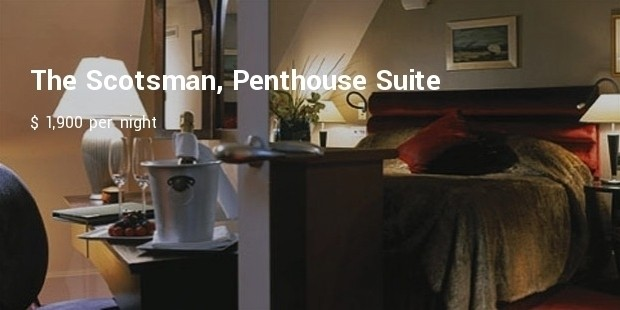 the scotsman, penthouse