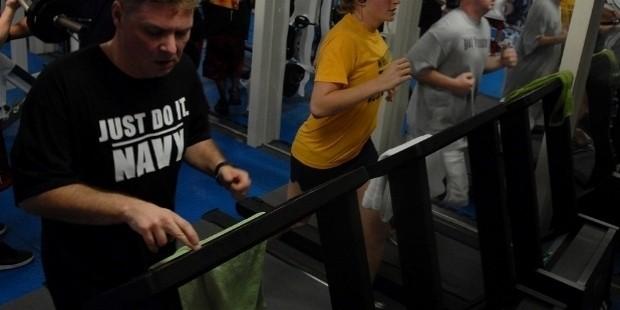 the treadmills