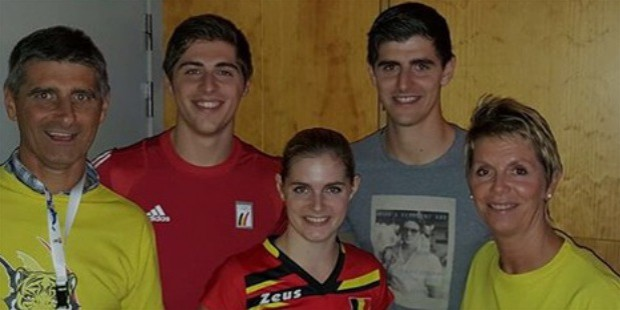 thibaut courtois family