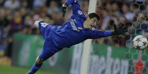 thibaut courtois goal keeper