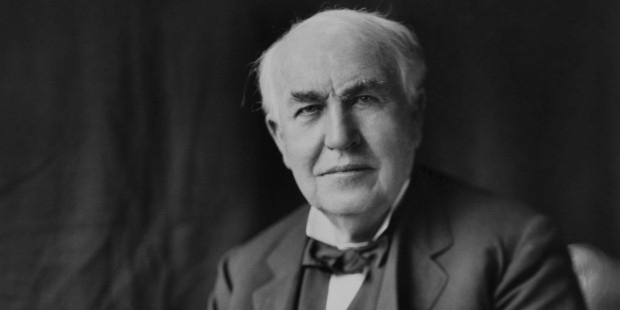 thomas alva edison saying on depression