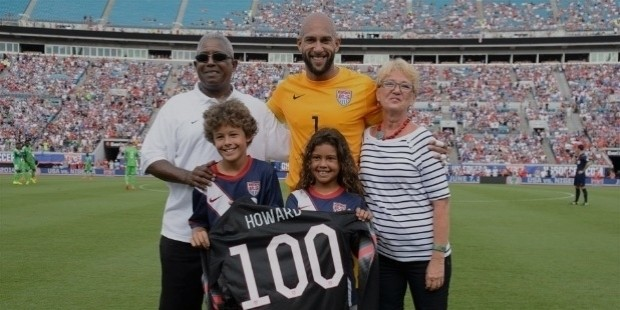 tim howard family