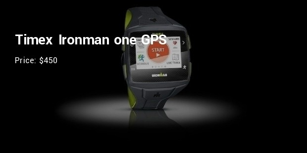 timex ironman one gps   $450
