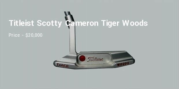 titleist scotty cameron tiger woods stainless