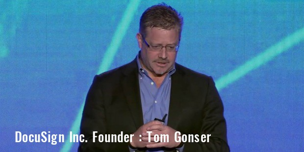 tom gonser docusign founder