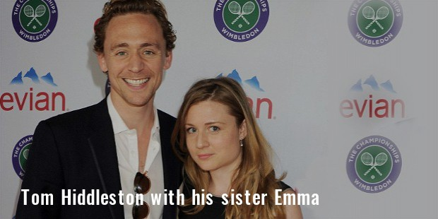 tom hiddelston sister