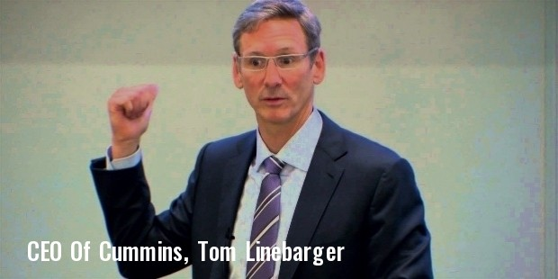 tom linebarger ceo