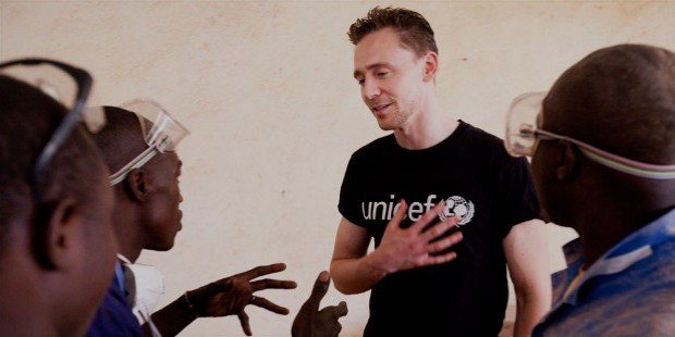 tom unicef campaign