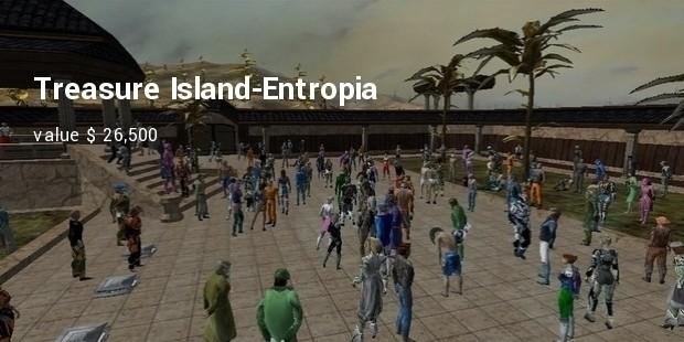 treasure island entropia