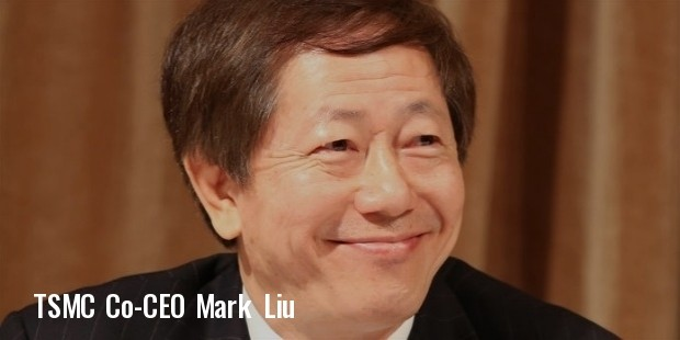 tsmc co ceo mark liu