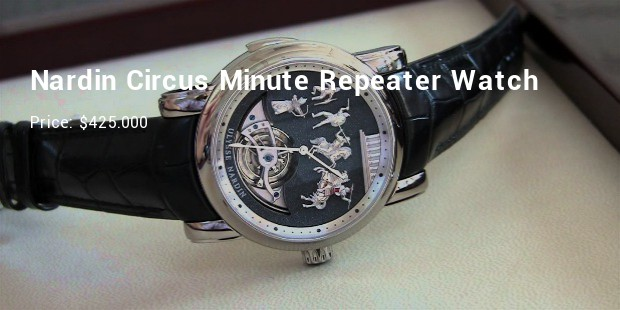 ulysse nardin circus minute repeater watch