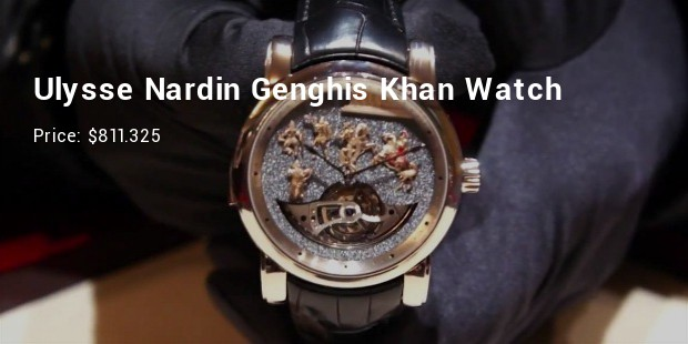 ulysse nardin genghis khan watch