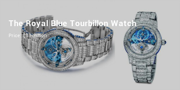 ulysse nardin the royal blue tourbillon watch