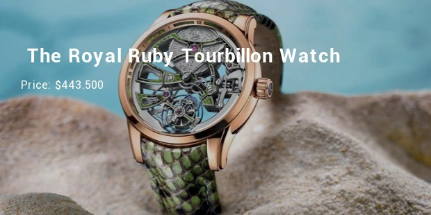 ulysse nardin the royal ruby tourbillon watch