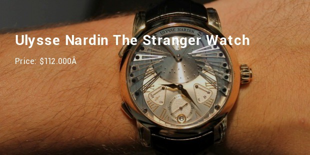 ulysse nardin the stranger watch