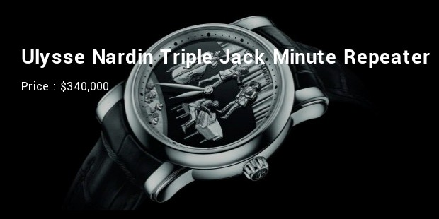 Ulysse Nardin Triple Jack Minute Repeater