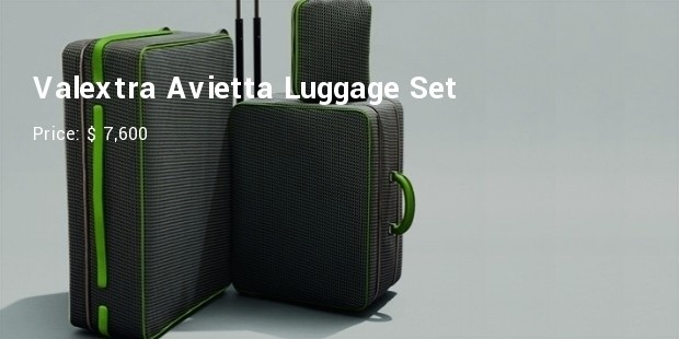 valextra avietta luggage set