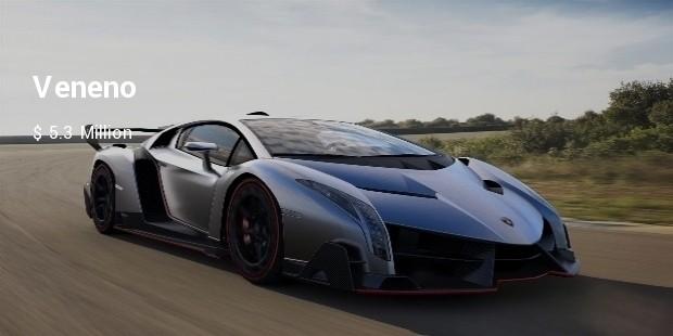 10 Most Expensive Lamborghinis Autos Successstory