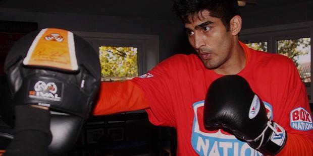 vijender singh boxing career