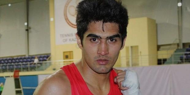 vijender singh early career