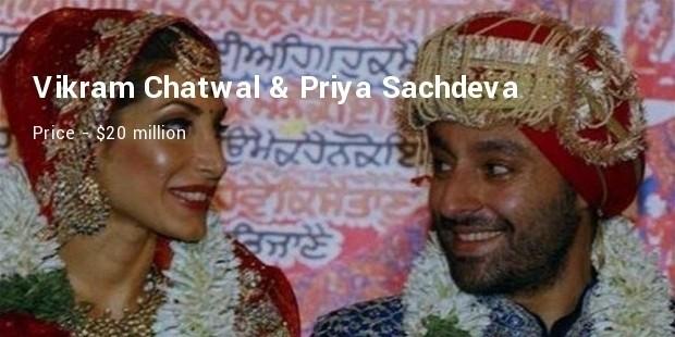 vikram chatwal   priya sachdeva