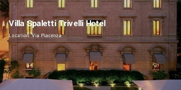 villa spalletti trivelli hotel