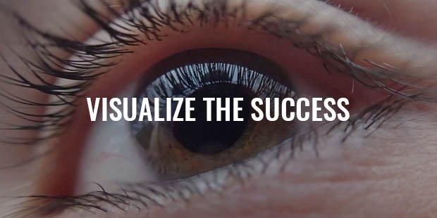 visualizing a successful