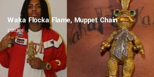 waka flocka flame, muppet chain