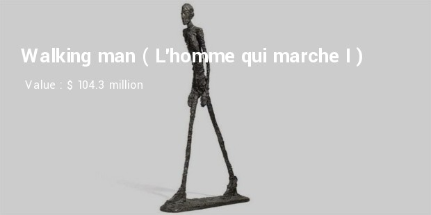 Walking man (L'homme qui marche I)