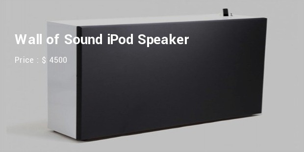 wall of sound speaker