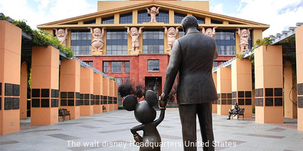 walt disney headquarters united states